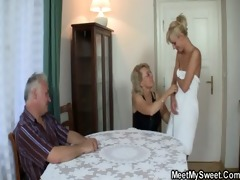 the girlfriend copulates his whole family