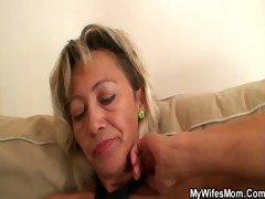 hawt mother in law assents to engulf his lustful