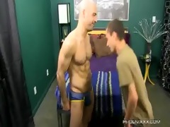 pleasant dad and lascivious son fuck with adam