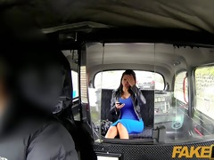 faketaxi brunette hair with large milk sacks