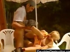blonde legal age teenager screwed hard