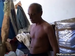 old granddad fucking cute blond