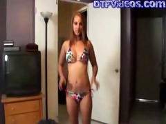 dtfvideos.com daughter shows off her fresh