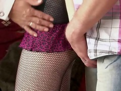 old mamma and dad seduce and gangbang sons gf