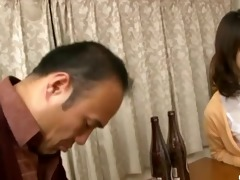 wife sucks on a younger cock