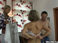 she is is lured into irrumation trio by his