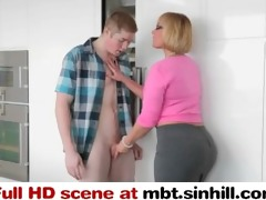hawt large tit mother i gives sex lessons to her