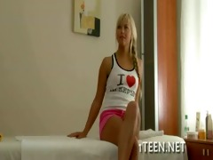 horny legal age teenager anal inserted