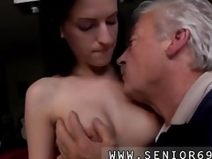 slutty senior bruce spots a priceless dame