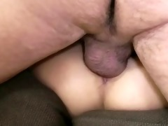 hungry blond sucks after fucking with fortunate