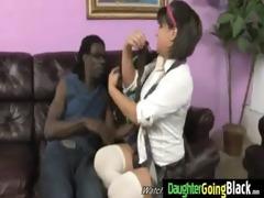 watching my daughter going on black shlong 5