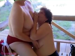 old large sweetheart receives cum-hole eaten by