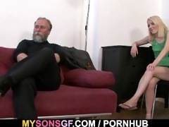 she is acquires punished and rides his cock