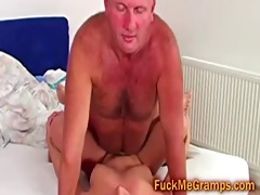 hairless grand-dad bonks blonde college hotty