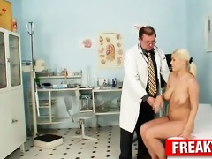 czech blonde bitch alexa bold harassed by mature