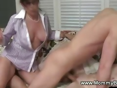perverted milf and daughter getting drilled