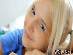 huge fake shlong legal age teenager play