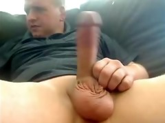 sexy dad jerking