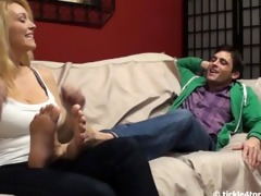 charlees brother in laws ticklish feet