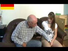 german grandpapa makes juvenile cutie lewd