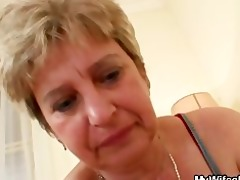 ramrod hungry granny bonks her son in law