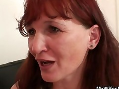 wife is watching her bf fucking her mama