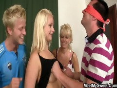 dissolute parents lure his gf into three-some