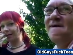 old boy fellatio by hot younger chick