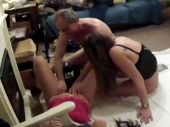 one gal films some other cutie jacking me off