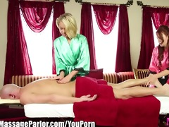 massage parlor mama teaches step daughter to