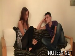 charming legal age teenager hotty acquires meaty