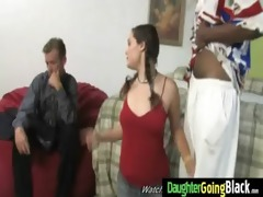 youthful daughter with priceless arse screwed by