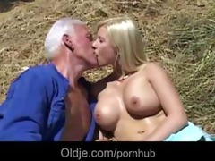old farmer joe bonks hard a breasty youthful
