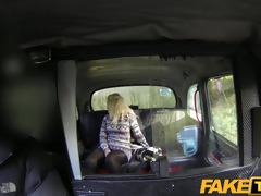 faketaxi juvenile blond sucks an old taxi mans