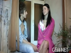 that is babe plays with large pounder of fellow