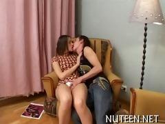 teen getting her taut sweet twat