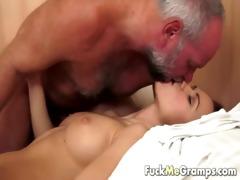 grandpa has an appetite for juvenile vagina