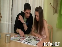 wonderful bang with legal age teenager gal