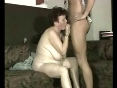 wench granny hard drilled by younger man.