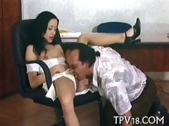 boy drills sex appeal gal