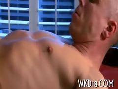 pulsating shlong in cum-hole