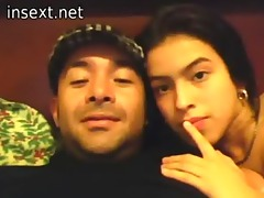 latin daddy daughter and a cam