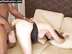 juvenile hotty monsterfucked in her face hole and