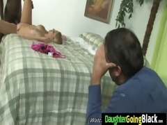 watching my daughter drilled by black monster 95