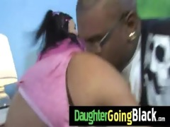 college wench daughter gangbanged by a dark