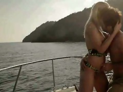 marvelous art sex on the yacht