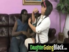 hawt daughter pecker engulf and interracial fuck 7