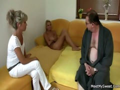 she rides her bf dad&#3116 s dong